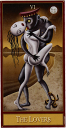 Deviant Moon Tarot - The Lovers