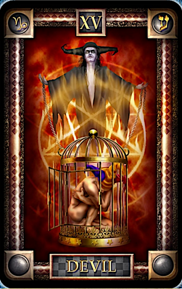 The Devil from Tarot of Dreams