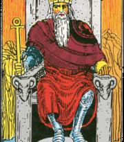 The Emperor (Waite Colman Smith)