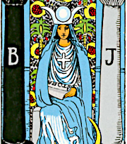 The High Priestess (Waite Colman Smith)