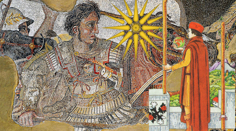 Alexander the Great and the Two of Wands
