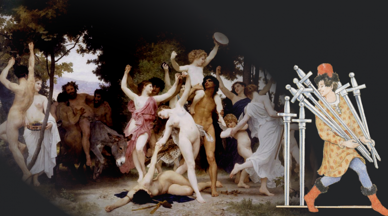 Seven Swords and Bouguereau The Youth of Bacchus