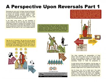 A Perspective Upon Reversals Part 1 2019-12-06