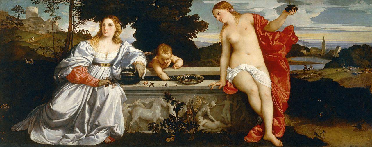 Titian - Amor Sacro y Amor Profano 1514
