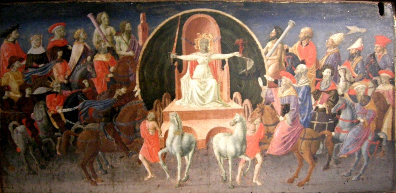 Zanobi Strozzi - Trionfo della Fama cerca 1440-1445