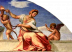 Raphael The Cardinal and Theological Virtues - detail Temperance and Faith