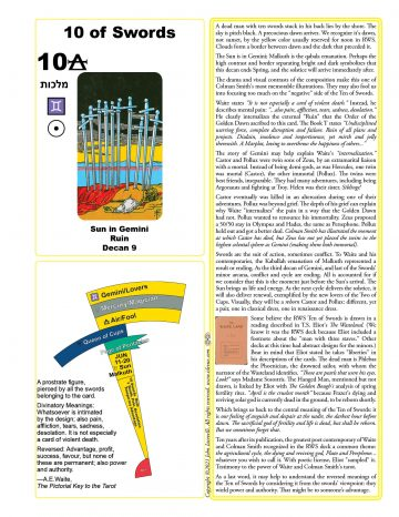 The Ten of Swords Islevue One Page Guides Series 2 2021-06-29